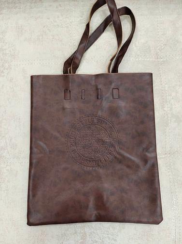Сумка-шоппер модель 376 (шоколад)