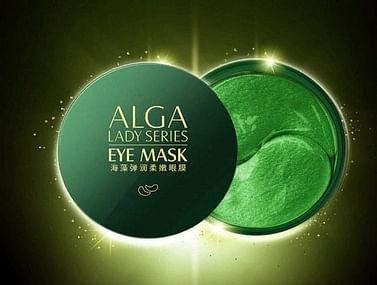 Гидрогелевые патчи в банке с водорослями Alga Lady Series Eye Mask (80г) IMAGES