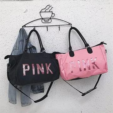 Сумка большая многофункциональная женская PINK (розовый) модель 360