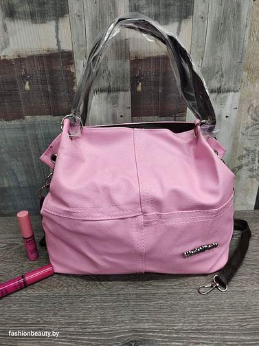 Сумка женская модель 379 (розовый зефир)
