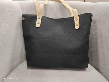 Сумка-шоппер модель 383 (черный)