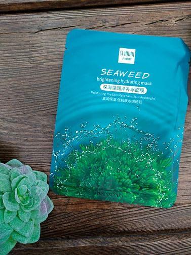 Маска тканевая SEAWEED Senana