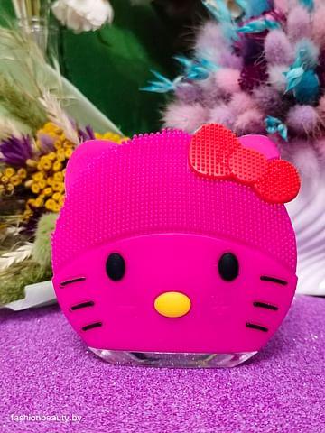 Щетка-массажёр для лица Hello Kitty (малиновый) FOREVER