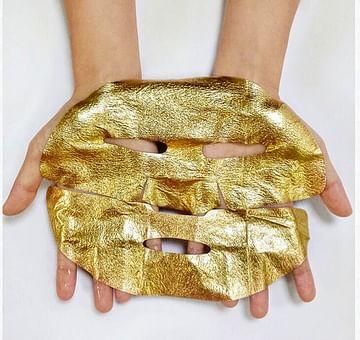 Лифтинг-маска из золотой фольги с гиалуроновой кислотой Gold Above Beauty Mask Bioaqua