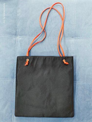 Сумка-шоппер модель 386(черный/котик)