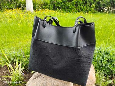 Сумка-шоппер модель 390 (черный)