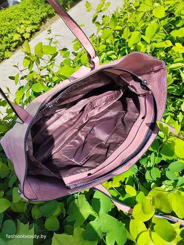 Сумка-шоппер модель 392 (пыльная роза)
