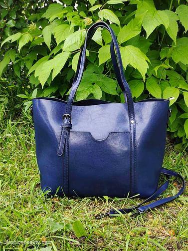 Сумка-шоппер модель 392 (королевский синий)