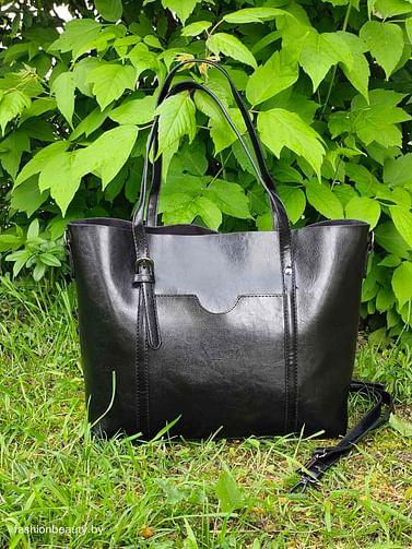 Сумка-шоппер модель 392 (черный)