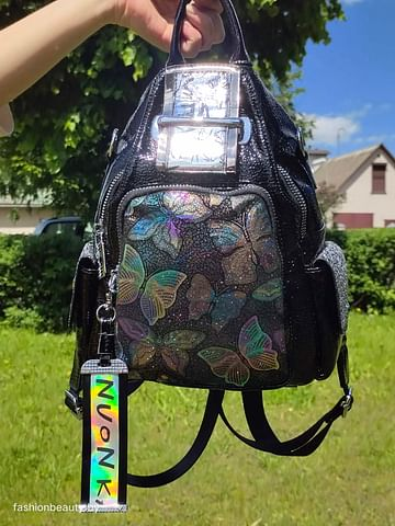 Рюкзак из натуральной кожи модель 395 (черный)