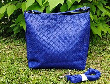 Сумка-шоппер модель 397 (королевский синий)