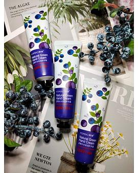 Питательный крем для рук Ягодный Berry Mix Natural Green Hand Cream, 30ml Rorec