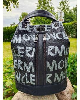 Рюкзак-трансформер из натуральной кожи модель 410 (черный)