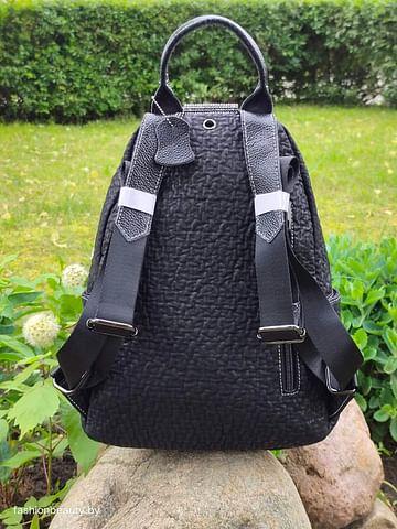 Рюкзак из натуральной кожи модель 414 (черный)