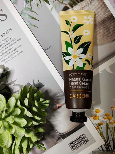 Смягчающий крем для рук Белая лилия GardeniaNatural Green Hand Cream, 30ml Rorec