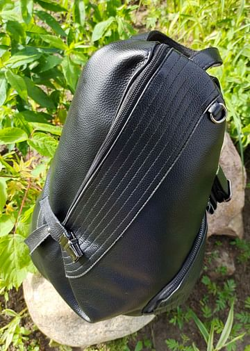 Рюкзак из натуральной кожи модель 419 (черный)