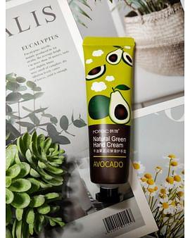 Увлажняющий крем для рук Авокадо Avocado Natural Green Hand Cream, 30ml HCHANA
