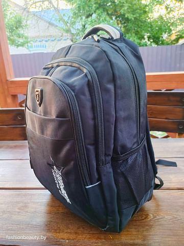 Рюкзак городской модель 425(черный/серый)