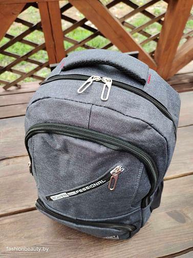 Рюкзак городской модель 429(лазурно-серый)