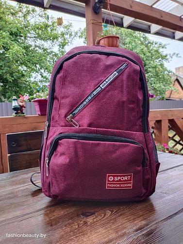 Рюкзак городской модель 429(бордовый)