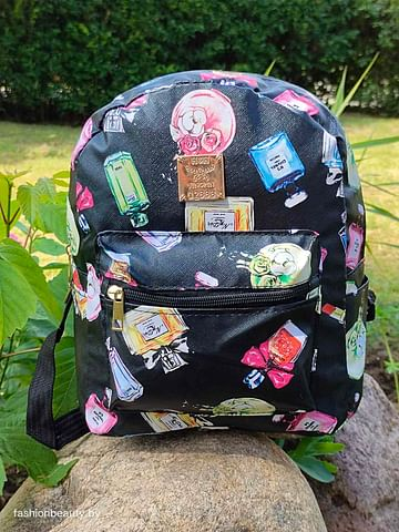 Рюкзак для девочек модель 438 (черный)