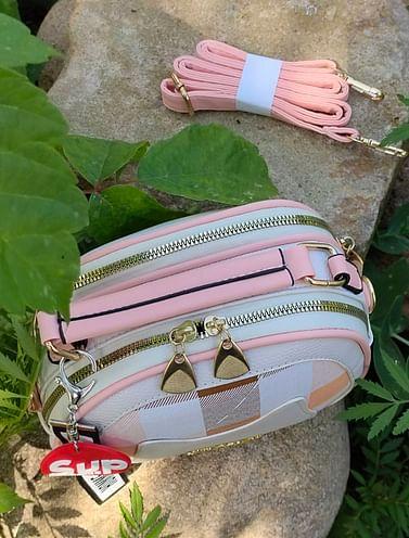 Сумка женская модель 442 KITTY (белый/розовый 1)