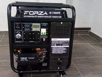 Бензиновый генератор инверторный Forza 7300Е