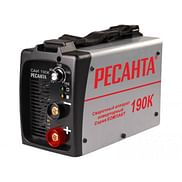Сварочный инверторный аппарат Ресанта САИ 190К(компакт)
