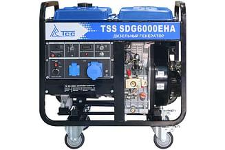 Дизельный генератор ТСС SDG 6000EHА
