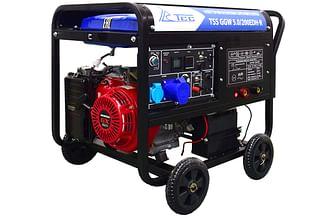 Сварочный бензиновый генератор ТСС GGW 5.0/200EDH-R(HONDA GX390)