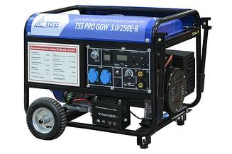 Сварочный бензиновый генератор ТСС PRO GGW 3.0/250E-R