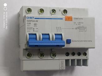 Дифавтомат CHINT DZ47LE-32 6KA 3Р+N 0.03A C25