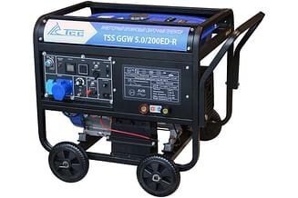 Сварочный бензиновый генератор ТСС GGW 5.0/200ED-R