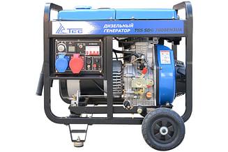Дизельный генератор ТСС SDG 7000EH3UA
