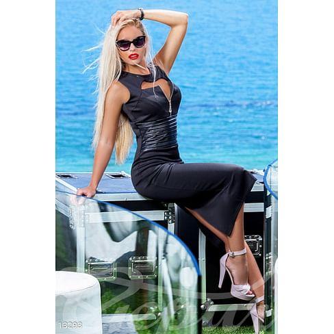 Экстравагантное платье-футляр Azure