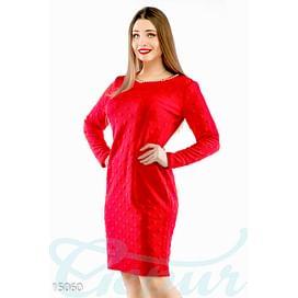 Фактурное платье-футляр Ultimate