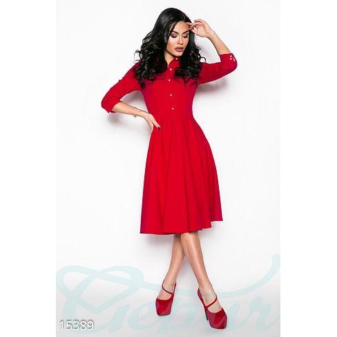 Женственное платье-клеш Fabulous