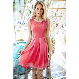 Нежное шифоновое платье Carousel