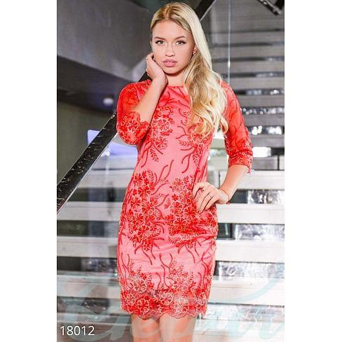 Вечернее платье с вышивкой Simplicity