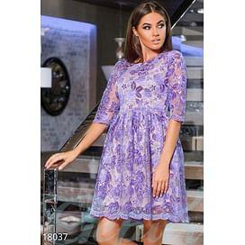 Вечернее платье из органзы Simplicity