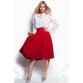 Базовая юбка-клеш Vibe