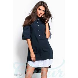 Асимметричное платье-рубашка Vibe