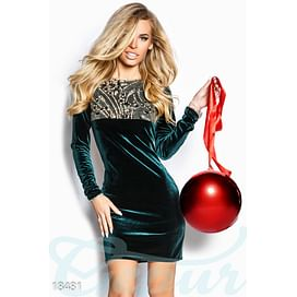 Облегающее бархатное платье Holidays