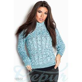 Теплый вязаный свитер Gentle