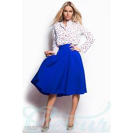 Яркая расклешенная юбка Vibe