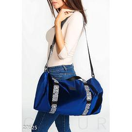 Бархатная спортивная сумка Gpr sweet wear