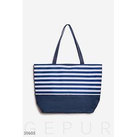 Пляжная сумка в полоску Beach wear