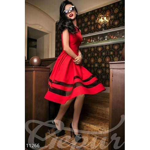 Яркое коктейльное платье Abajour