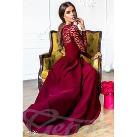 Длинное вечернее платье Pure