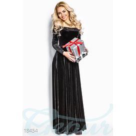 Вечернее бархатное платье Holidays